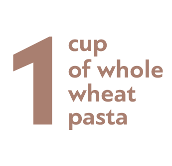 1 cup of whole wheat