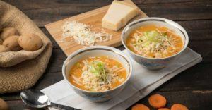 Βελουτέ σούπα λαχανικών με σουσαμάκι_MISKO_2