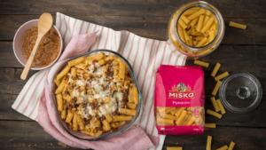 Ριγκατόνι φούρνου με κιμά και τυριά_MISKO_2