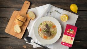 Σούπα πεπονάκι με κρέας αυγολέμονο _MISKO_2